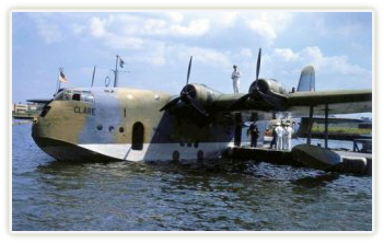 Short 'C' Class Empire Flying Boat 'Clare', wartime colours